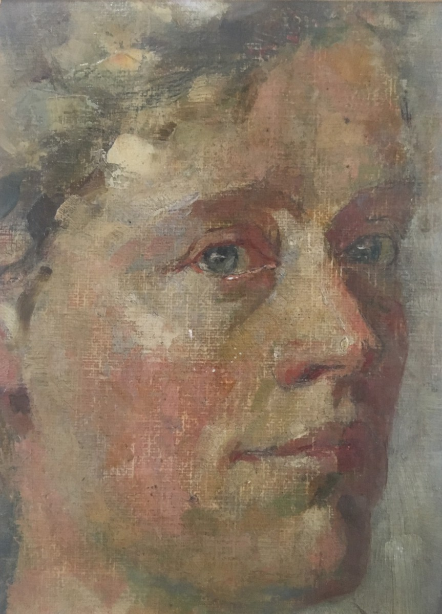 Zelfportret Lucie (1907)