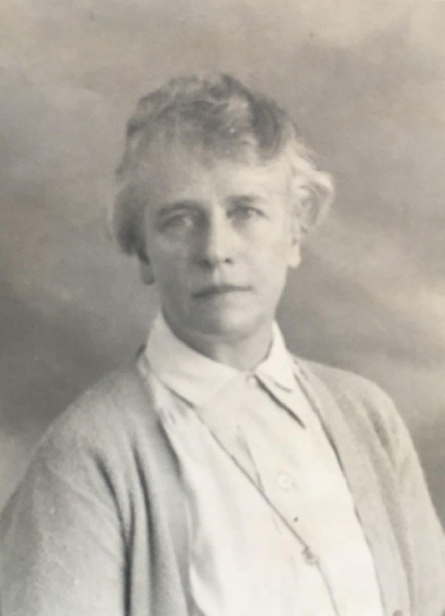Lucie op 59-jarige leeftijd (1930)