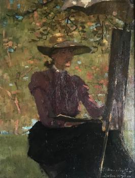 Zelfportret Lucie (1898)