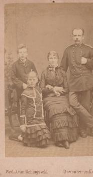 Familie Van Dam van Isselt (ca. 1880)