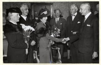 Opening ere-tentoonstelling (1941)