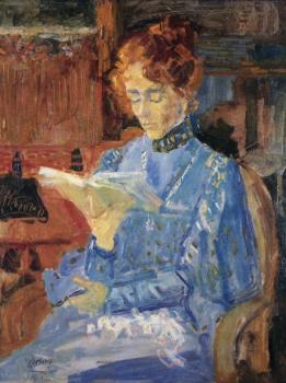 Portret Lucie door Jan Toorop (1905)