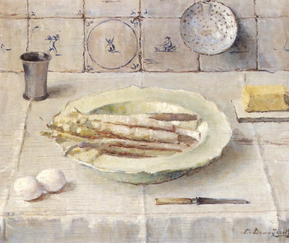 De Asperges (1944) door Lucie van Dam van Isselt
