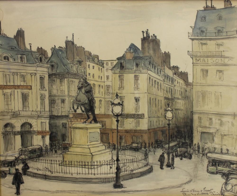 Place des Victoire Paris_Lucie van Dam van Isselt