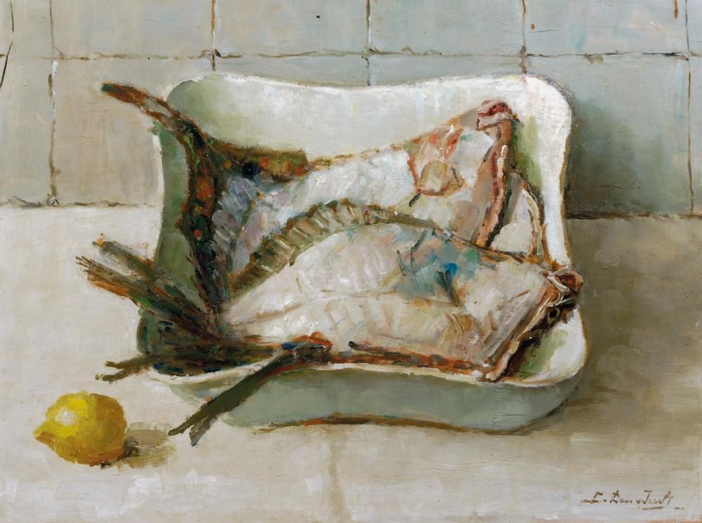 Vis door Lucie van Dam van Isselt