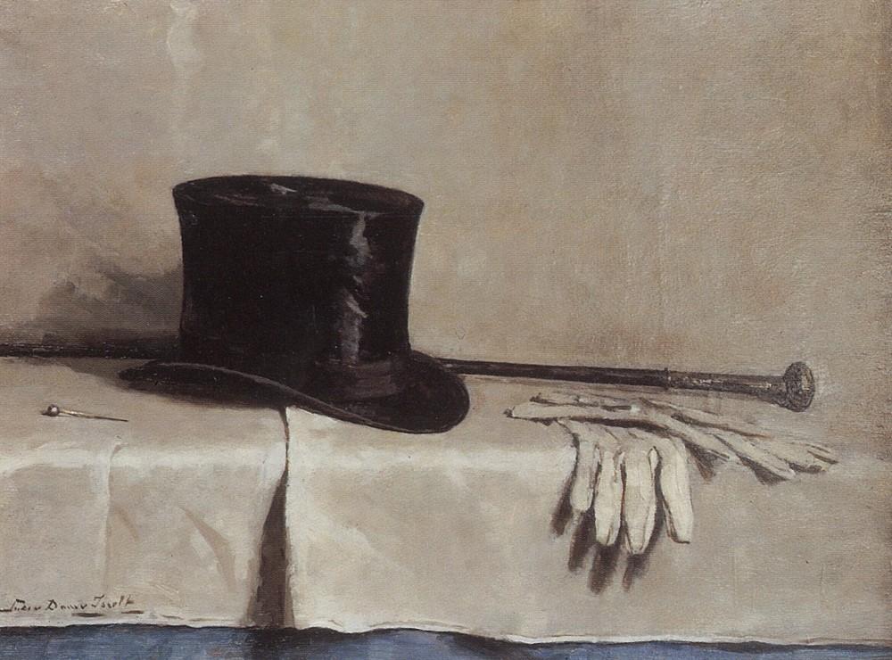De hooge hoed (1925) door Lucie van Dam van Isselt