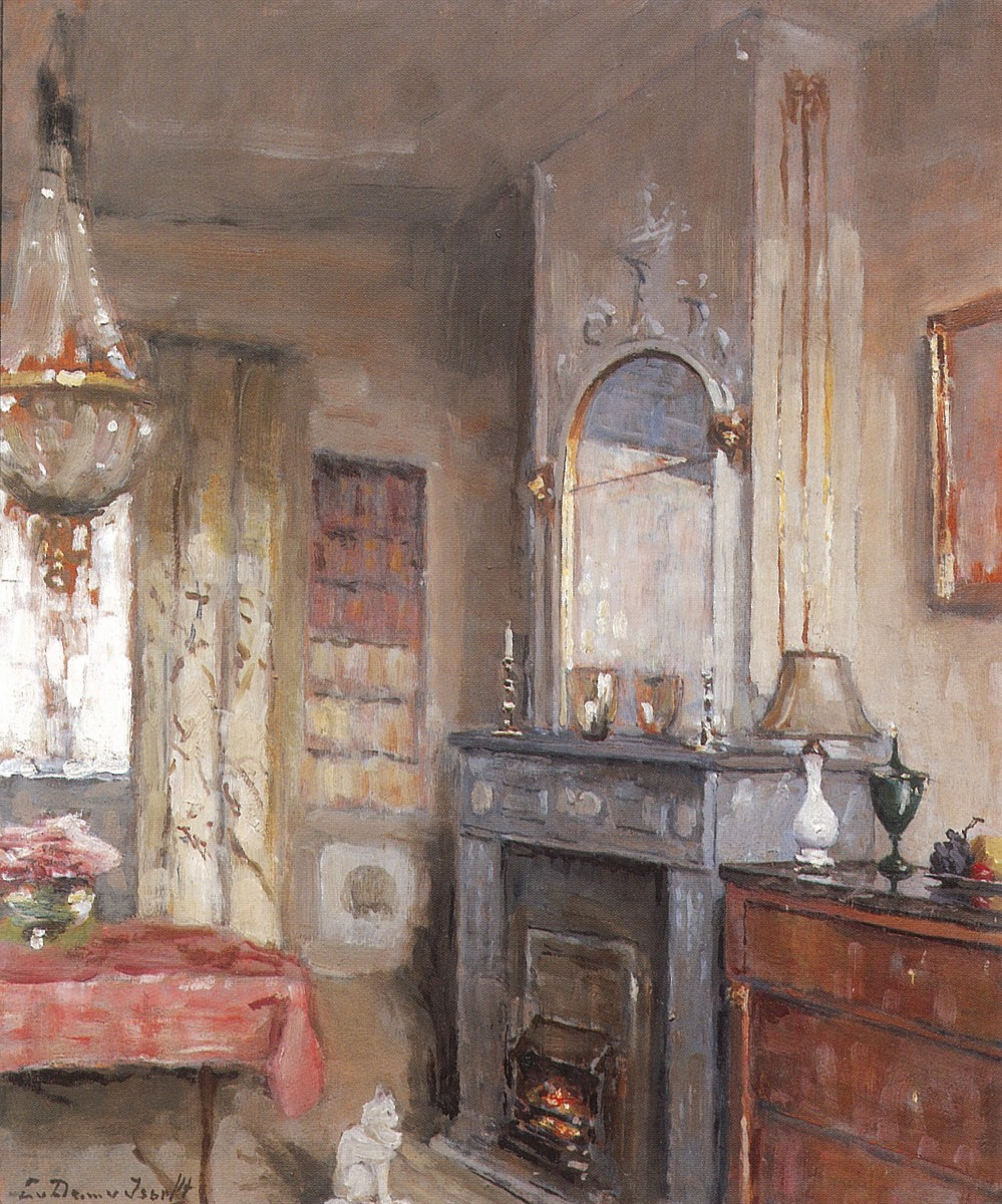 Interieur (1938-1939) door Lucie van Dam van Isselt
