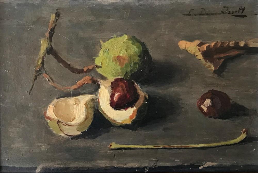 Kastanjes (ca. 1940) door Lucie van Dam van Isselt