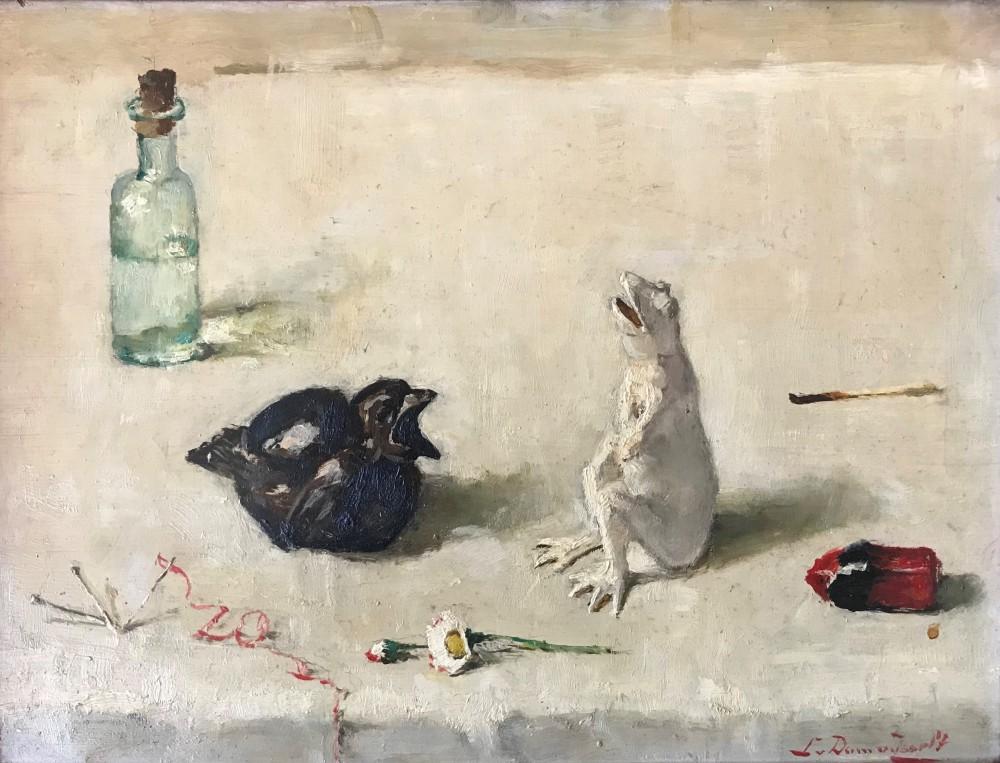 De kikker en de spreeuw (ca. 1937-1938) door Lucie van Dam van Isselt