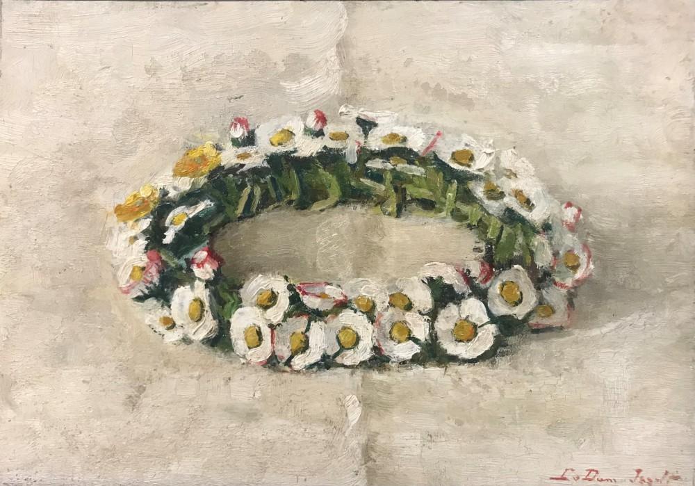 Kransje (1920-1921) door Lucie van Dam van Isselt