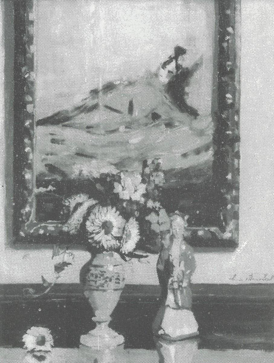 Het schilderijtje van Lizzy Ansingh (1917-1918) door Lucie van Dam van Isselt