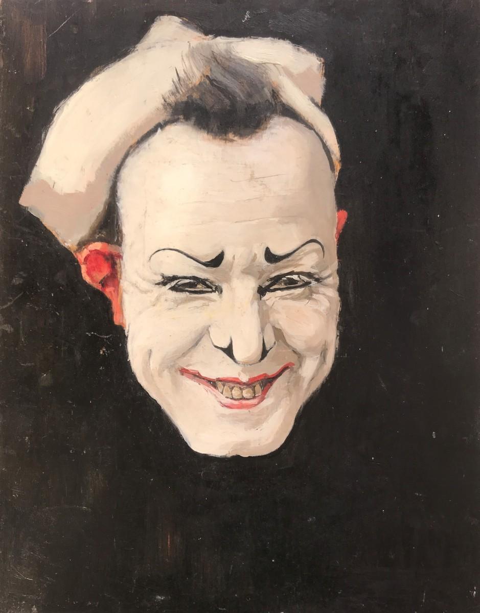 Studie François Fraçellini (1925-1926) door Lucie van Dam van Isselt
