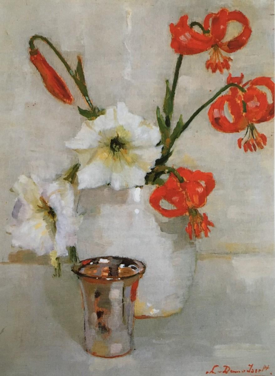 Lelies (ca. 1925-1930) door Lucie van Dam van Isselt