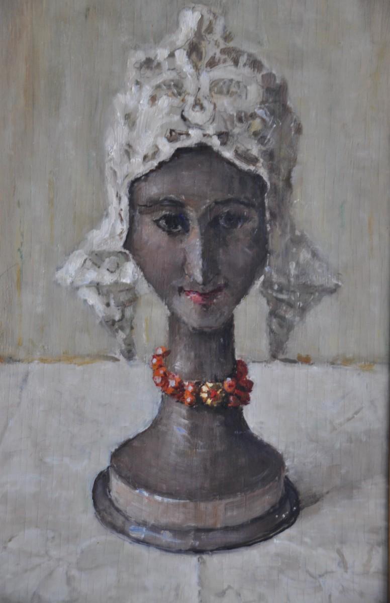 De Mutsenbol (ca. 1922-1923) door Lucie van Dam van Isselt
