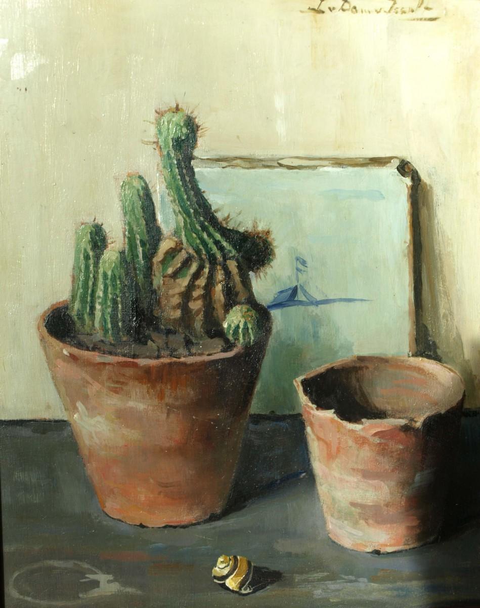 Cactus (ca. 1930-1935) door Lucie van Dam van Isselt