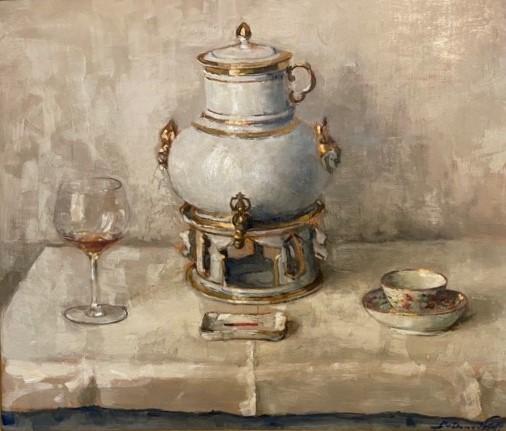 De Russische koffiekan (1941) door Lucie van Dam van Isselt