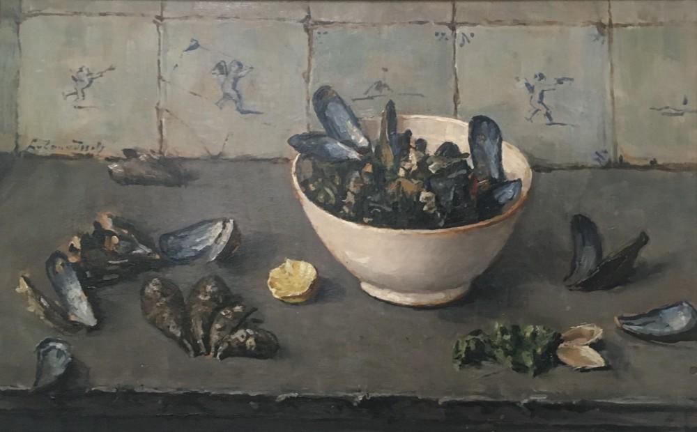 Mosselen (1942) door Lucie van Dam van Isselt