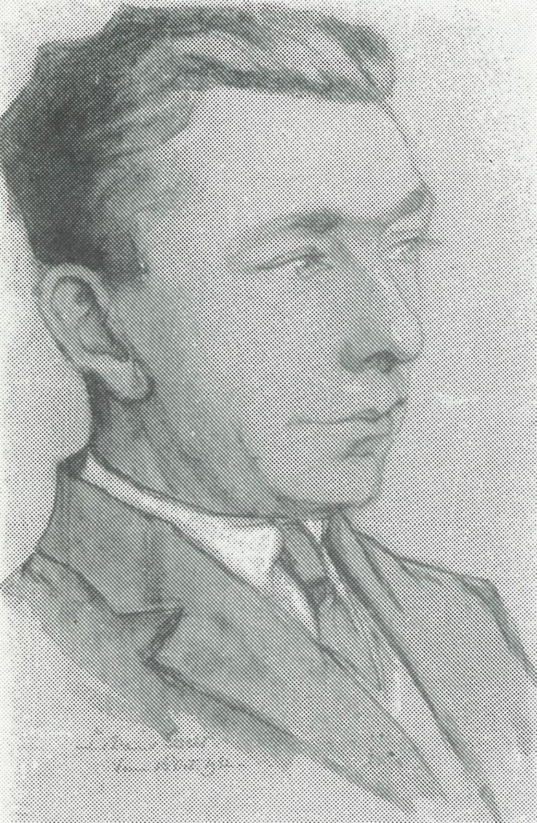 Portret Marinus Roeting (1932) door Lucie van Dam van Isselt