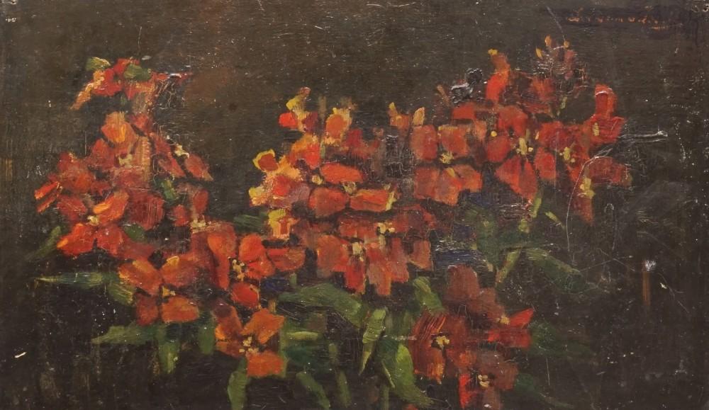 Muurbloemen door Lucie van Dam van Isselt