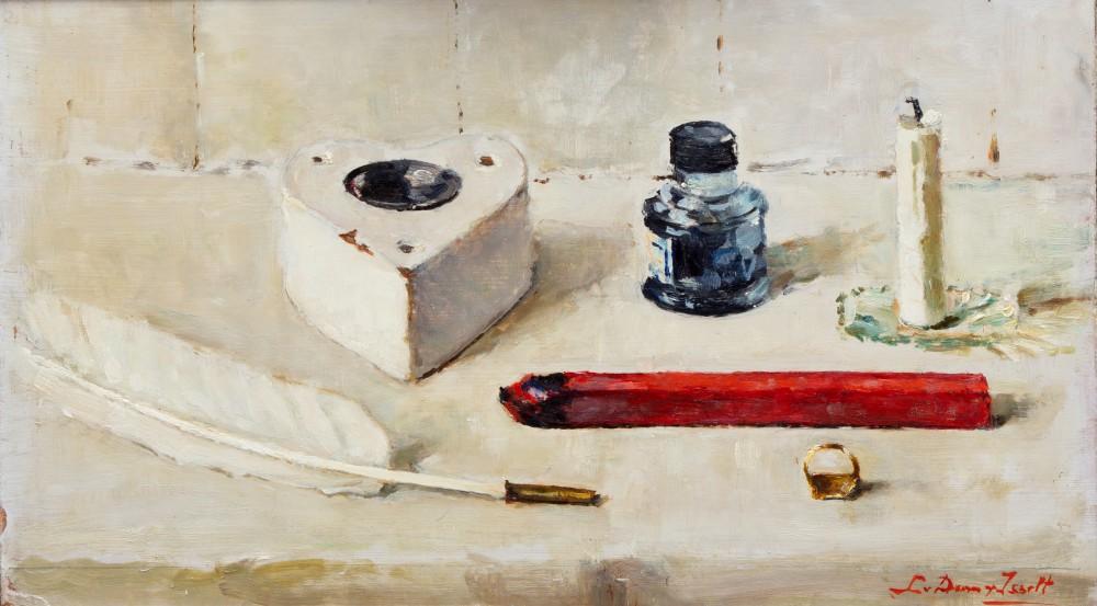 Schrijfgerei door Lucie van Dam van Isselt