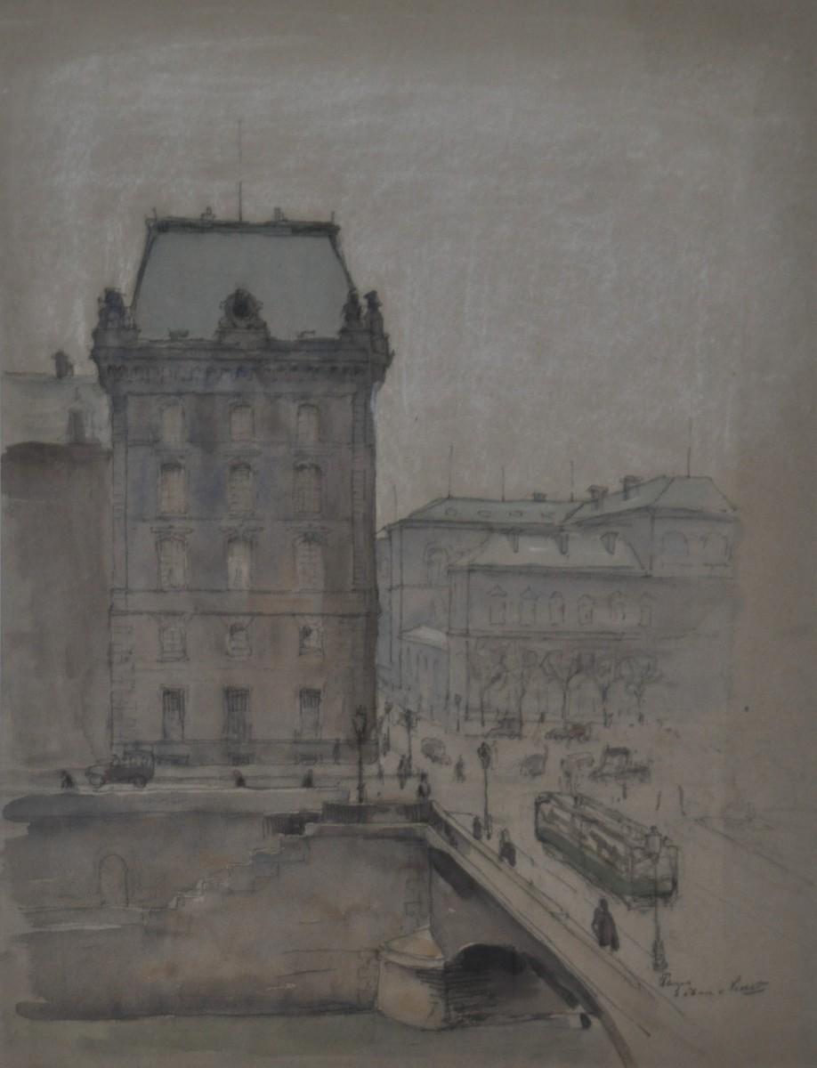 Parijs door Lucie van Dam van Isselt