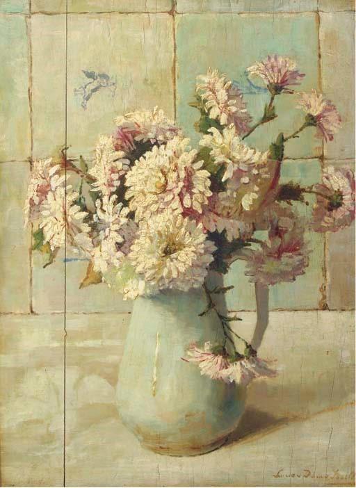 Zinnia's (1944) door Lucie van Dam van Isselt