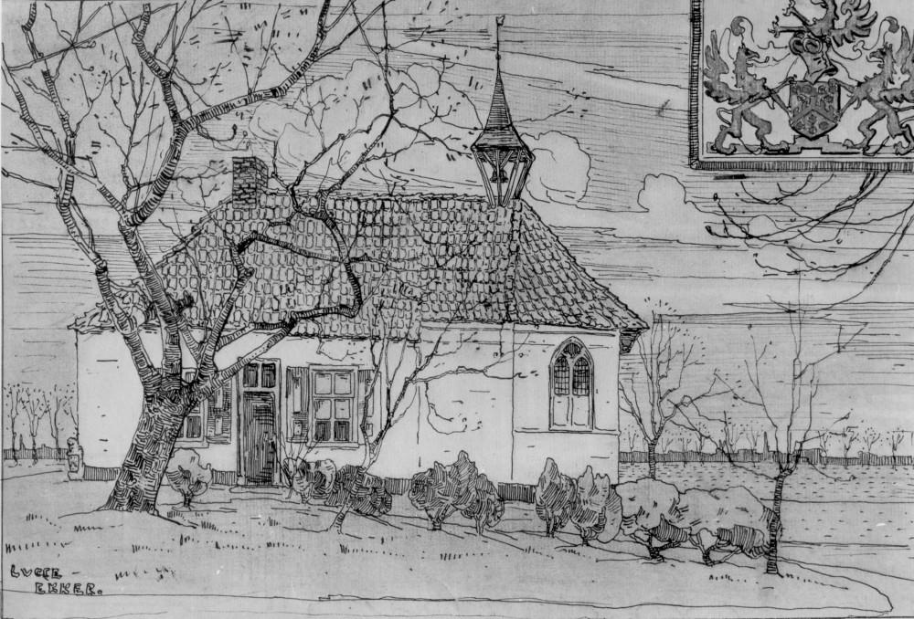 Kapel Isselt door Lucie van Dam van Isselt