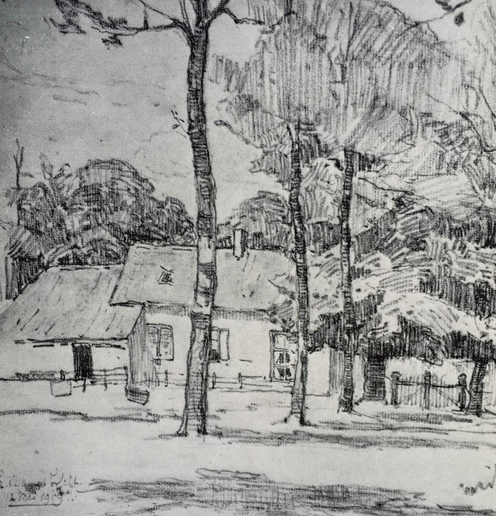 Groot Molenbeek (1909) door Lucie van Dam van Isselt