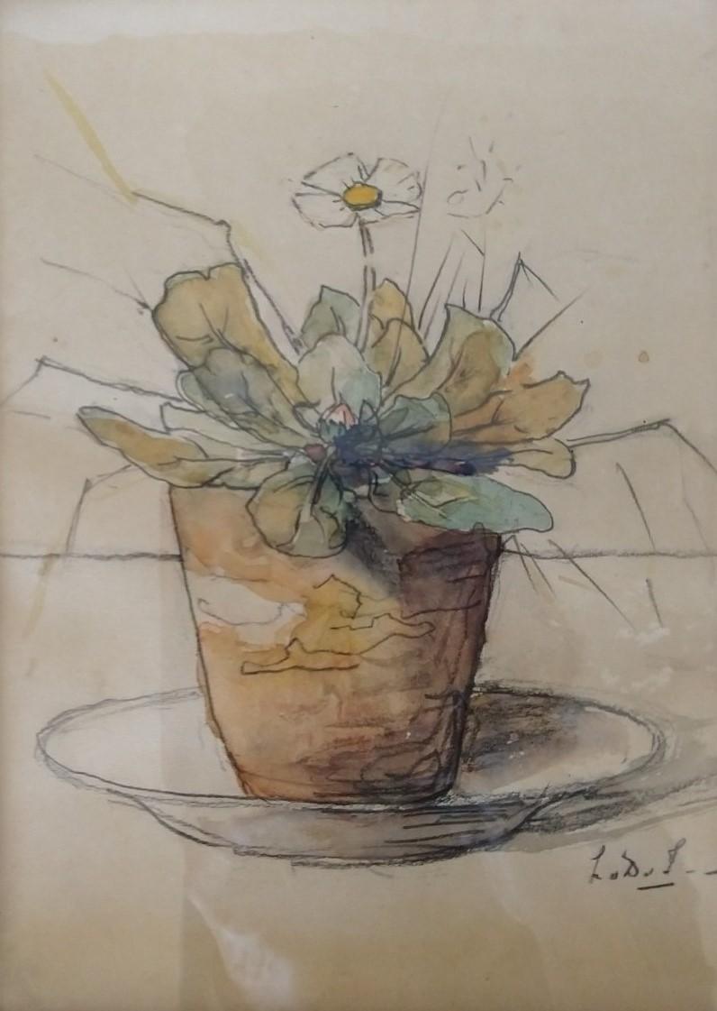 Meizoentje (ca. 1945) door Lucie van Dam van Isselt