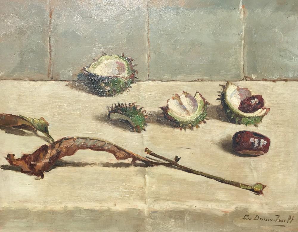 Kastanjes (ca. 1930) door Lucie van Dam van Isselt