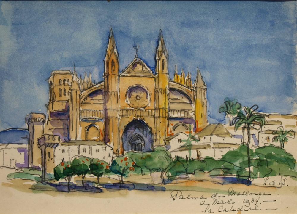 Palma de Mallorca (1934) door Lucie van Dam van Isselt