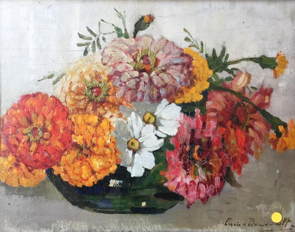 Zinnia's door Lucie van Dam van Isselt
