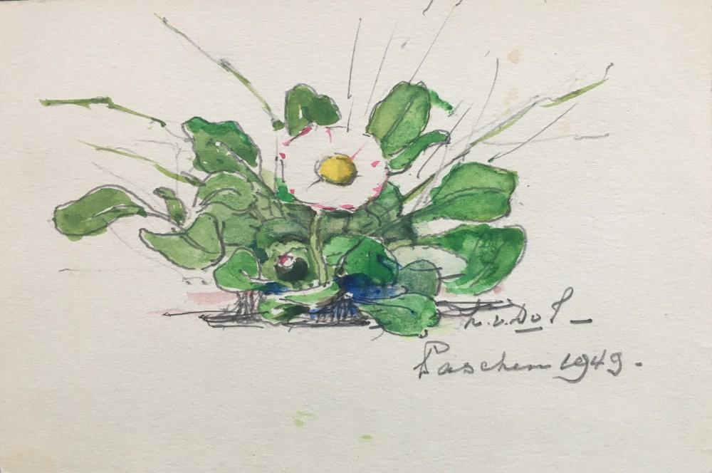 Eén van de laatste meizoentjes (1949) door Lucie van Dam van Isselt