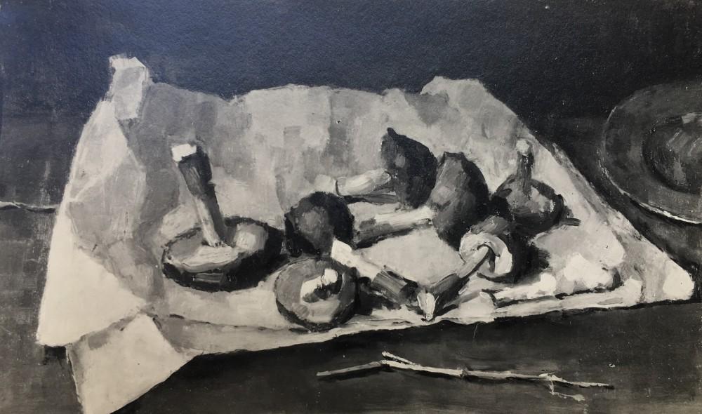 Paddestoelen door Lucie van Dam van Isselt
