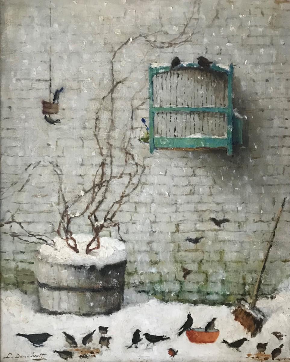 Winter 1947 door Lucie van Dam van Isselt
