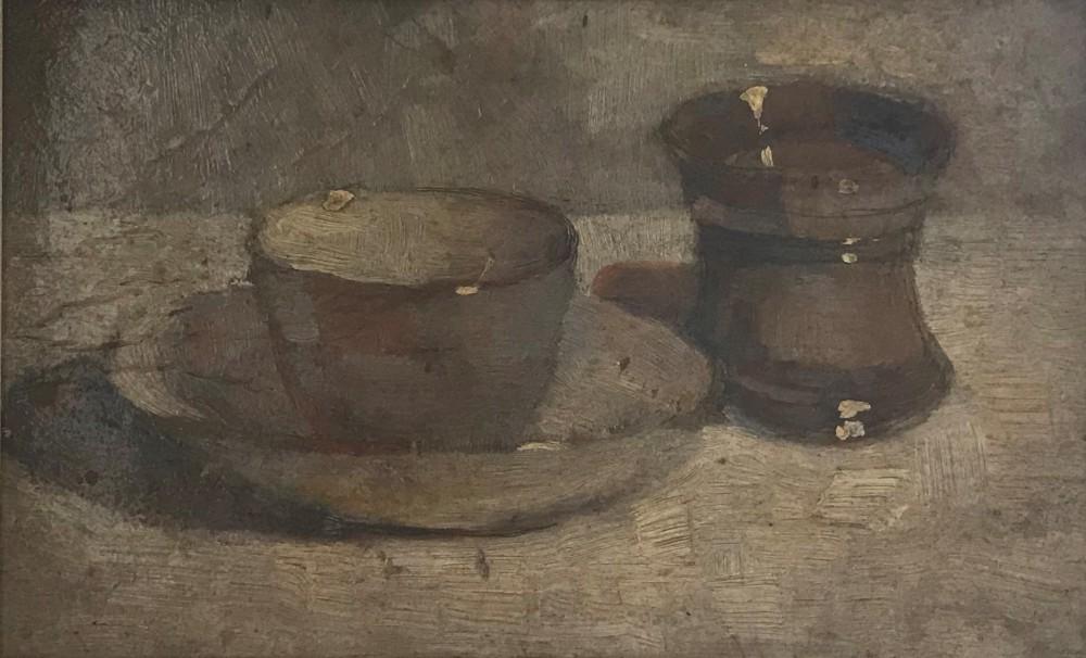 Kop en beker door Lucie van Dam van Isselt