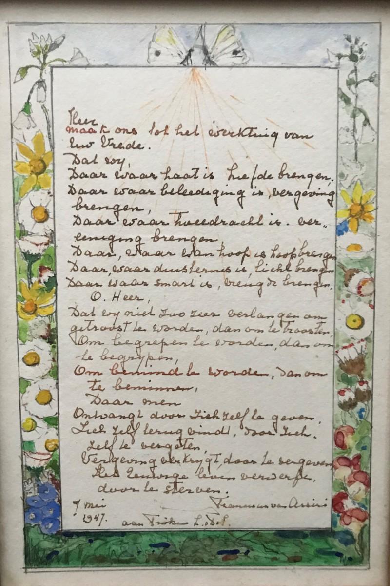 Gedicht voor Fröken (1947) door Lucie van Dam van Isselt