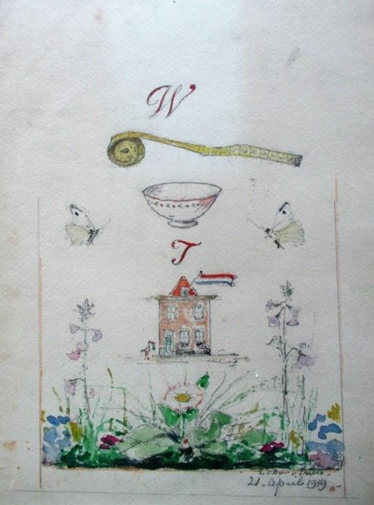 Thuiskomst (1949) door Lucie van Dam van Isselt