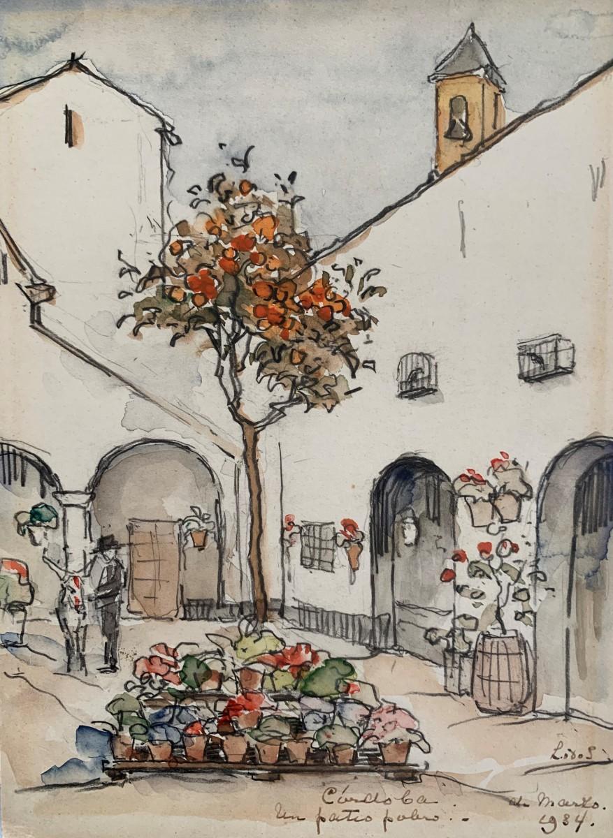 Cordoba (1934) door Lucie van Dam van Isselt