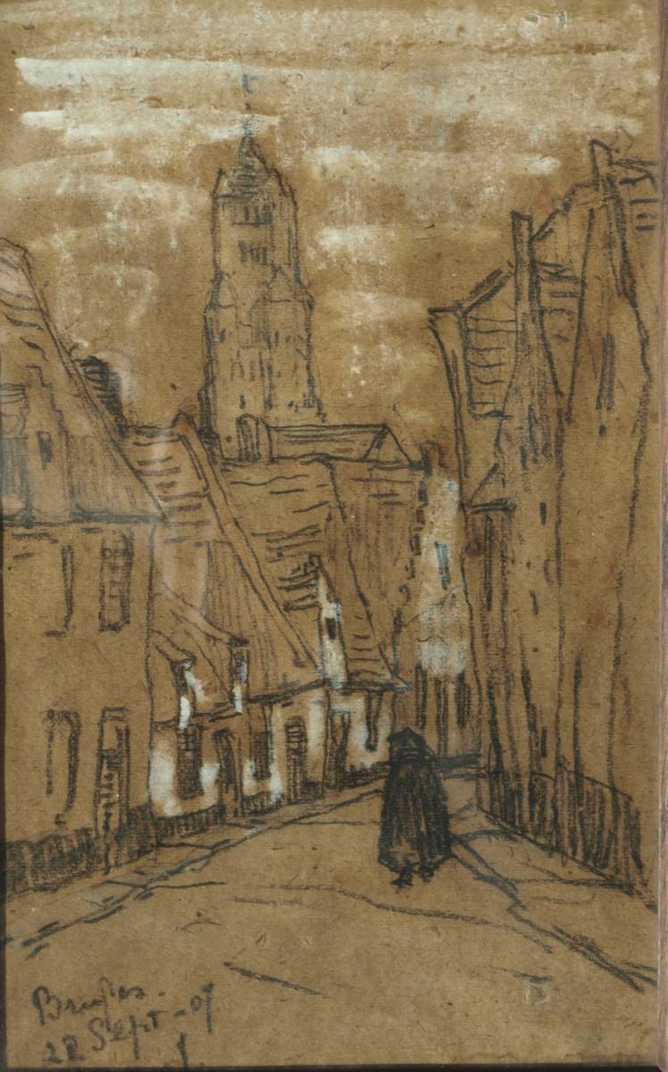 Bruges (1907) door Lucie van Dam van Isselt