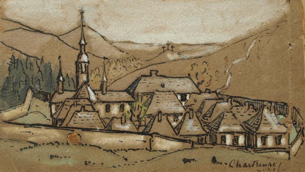 Chartreuse door Lucie van Dam van Isselt