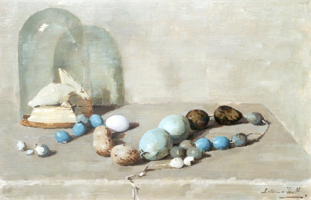 Eiersnoer (ca. 1920-1922) door Lucie van Dam van Isselt