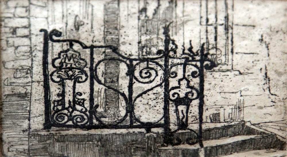 Traphek (1908-1910) door Lucie van Dam van Isselt