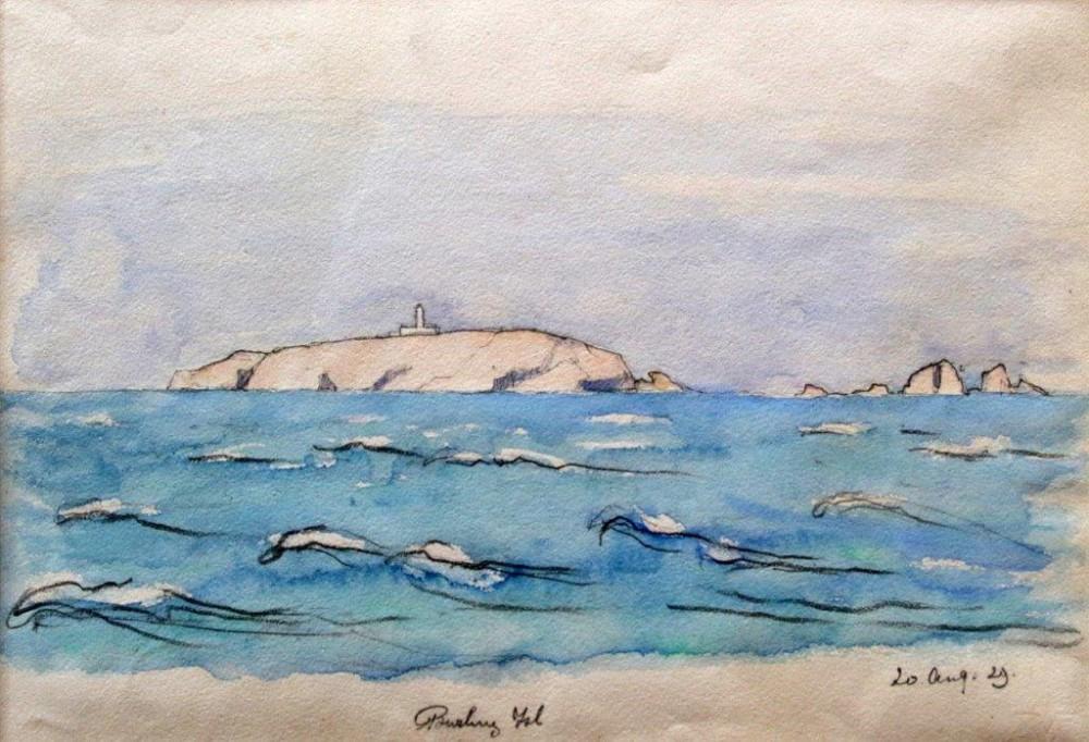 Burling Island (1929) door Lucie van Dam van Isselt