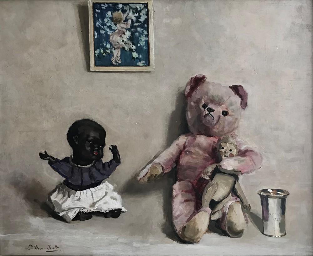 Dierbaarheden van de kinderen Van Heek (ca. 1935) door Lucie van Dam van Isselt