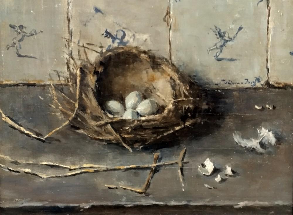 Vogelnestje door Lucie van Dam van Isselt
