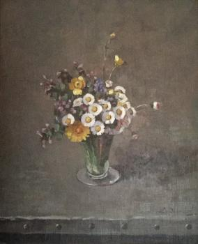 Veldboeketje door Lucie van Dam van Isselt