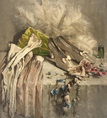 Le lendemain d'un jour de fête (1934-1924) door Lucie van Dam van Isselt