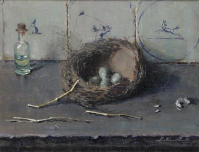 Het vogelnestje door Lucie van Dam van Isselt