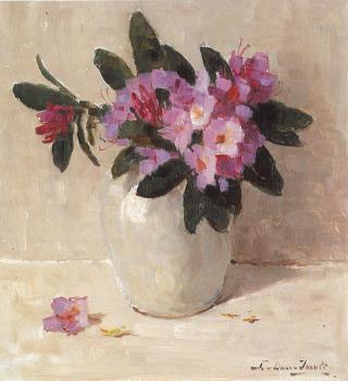 Rododendrons (1941) door Lucie van Dam van Isselt